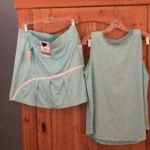 Izod Golf/Tennis shirt and skort set